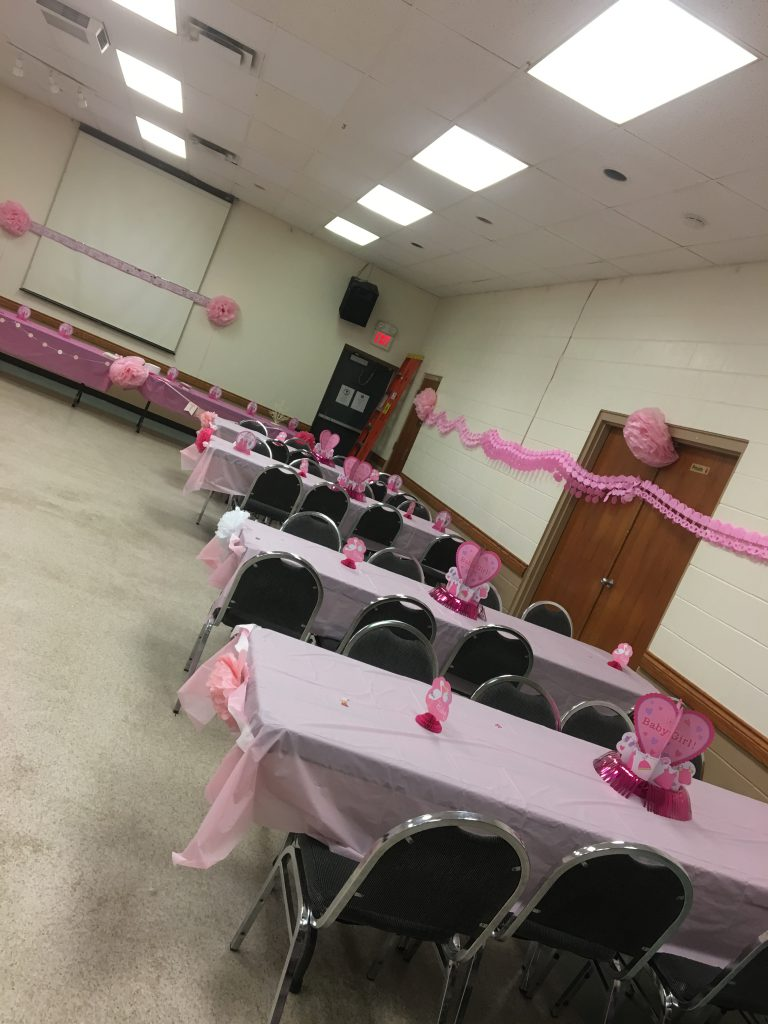 Bridal Shower at the Kin Hall