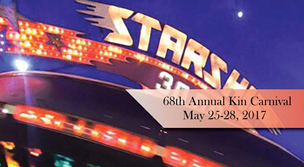 Kin Carnival May 25-28