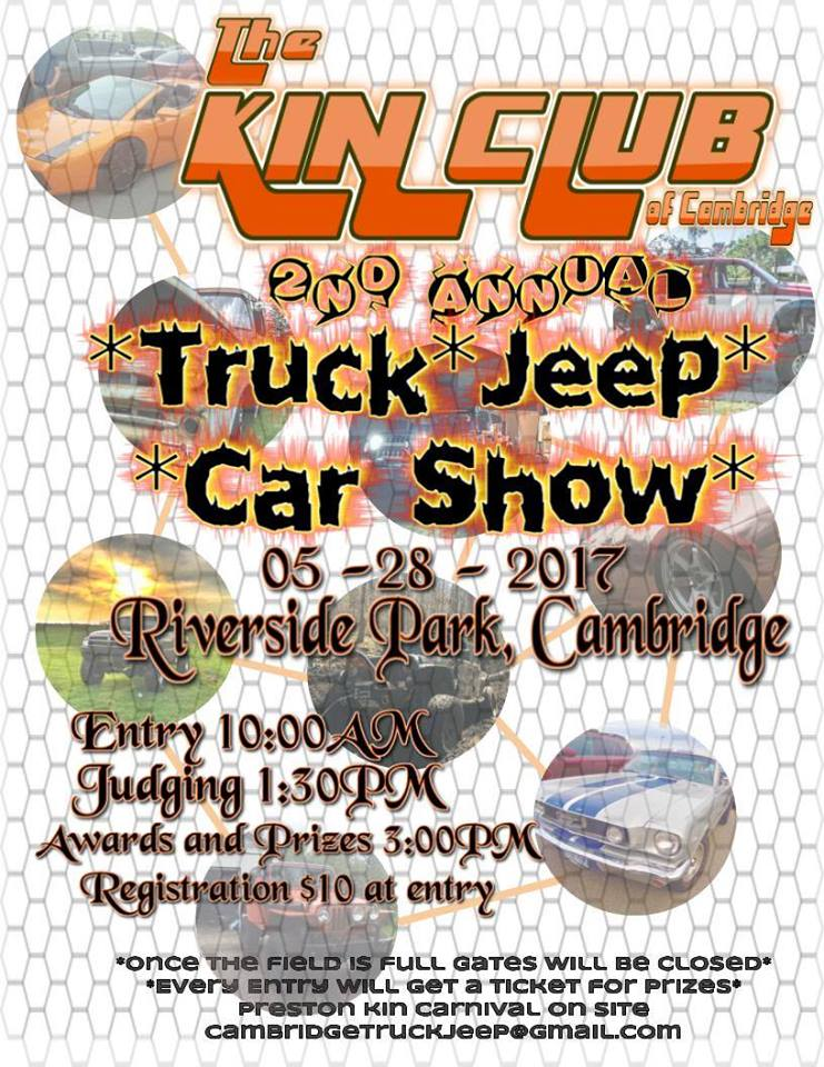 truck, jeep and car show