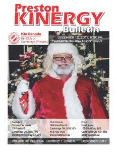 KINERGY Bulletin December 2017
