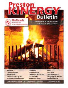 KINERGY Bulletin January 2018