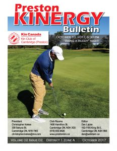 KINERGY Bulletin October 2017